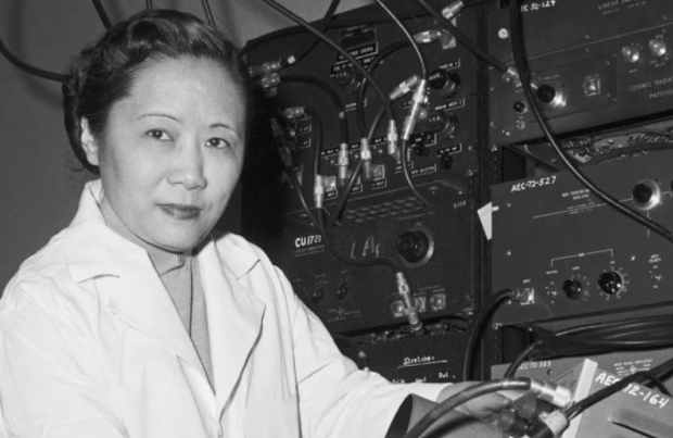 Chien-Shiung Wu (Shanghai, 31 maggio 1912 – New York, 16 febbraio 1997)