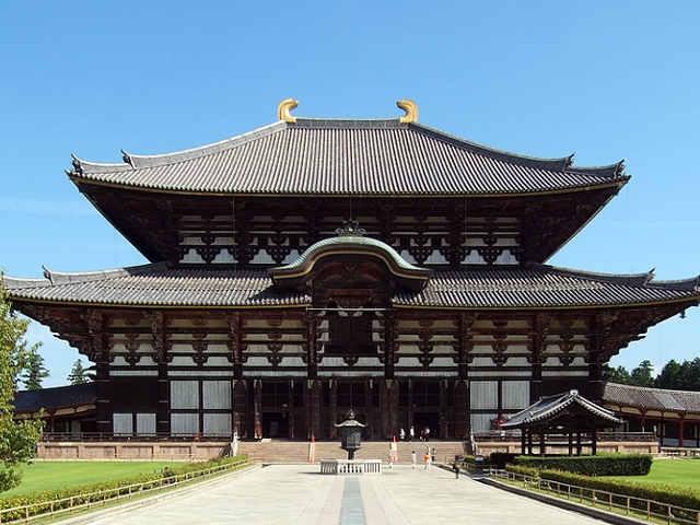 Tōdai-ji a Nara: Grande Sala del Buddha (Daibutsuden)
