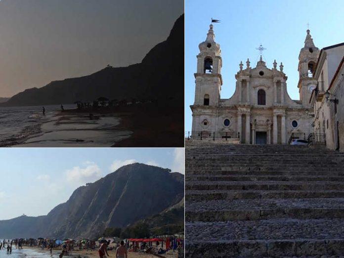 La bellissima spiaggia di Siculiana e interessanti itinerari letterari lungo la costa agrigentina