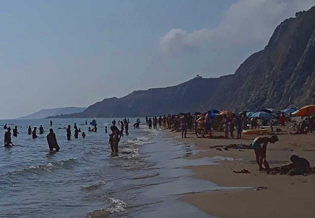 La spiaggia di Siculiana