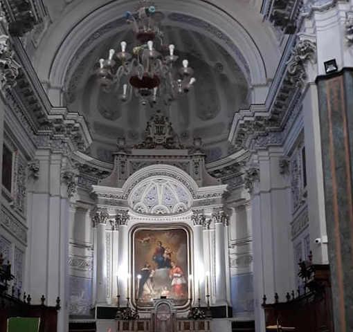 Chiesa Madre di Palma di Montechiaro, interno