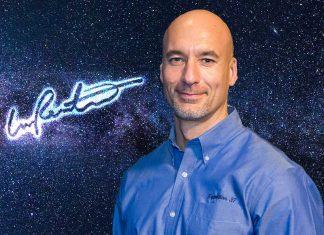 La grafia di Luca Parmitano, una firma spaziale