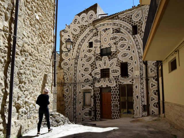Farm Cultural Park in Favara, Agrigento Sicilia