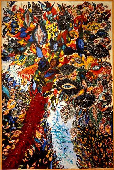 Séraphine Louis, L'arbre de Paradis