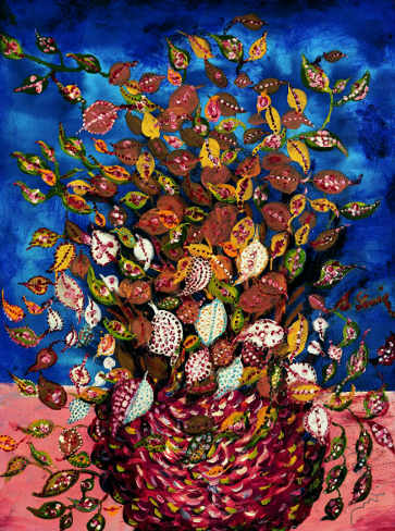 Séraphine de Senlis Le bouquet de feuilles, 1929-1930