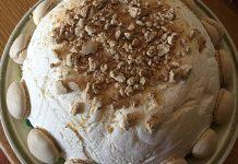 Semifreddo tartufo bianco con cuore al caffè e meringhe ricetta semplice