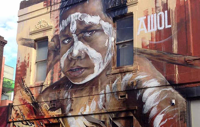 Street Art, Matt Adnate murales 18
