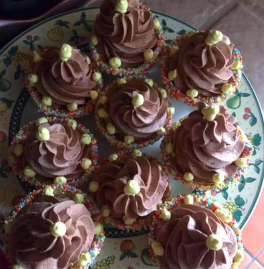 Ricetta Cestini di cioccolato bianco con mousse di Nutella senza glutine