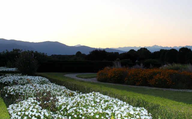 La bellezza dei giardini reali