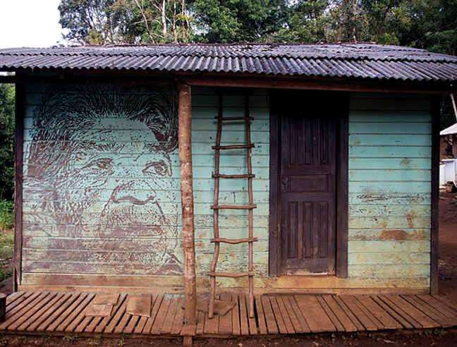 Araçaí villaggio Guarani Brazil Farto Vhils
