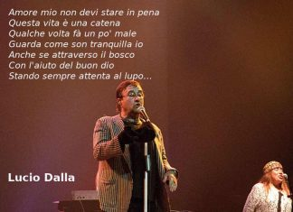 Attenti al lupo di Lucio Dalla