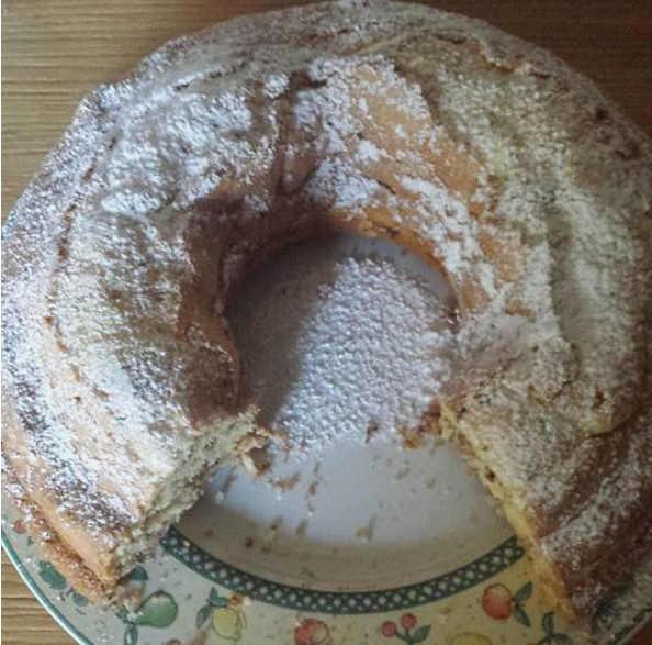 Ingredienti Ciambella sofficissima senza glutine con panna senza lattosio