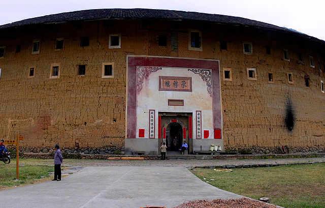 Le case rotonde cinesi vere fortezze di forma circolare
