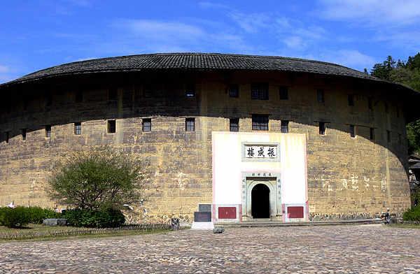 Le case rotonde di terra i Tulou degli Hakka nel Fujian