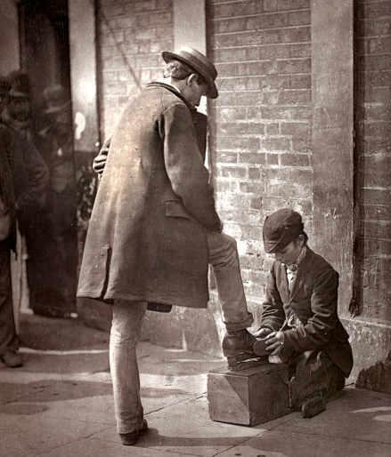Adolphe Smith e John Thomson foto le strade di Londra 2