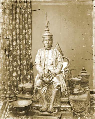 John Thomson:  Rama IV, King Mongut