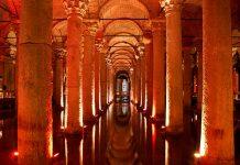 La Cisterna Basilica, il palazzo sommerso di Istanbul