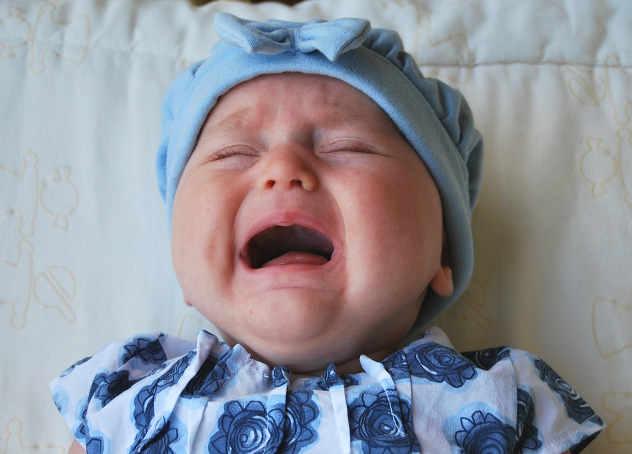 Le paure di una mamma, quando il bambino piange