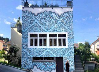NeSpoon: pizzi, merletti e impegno ambientale sui muri delle città