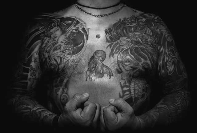 I tatuaggi e la Yakuza,