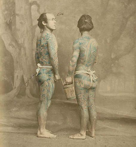 Quando i tatuaggi furono associati ai Yakuza