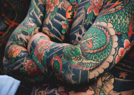 Quando i tatuaggi furono associati ai Yakuza  2