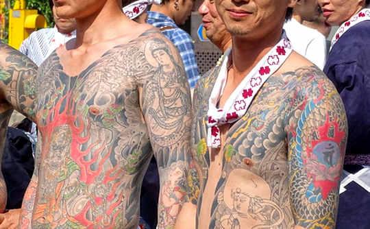 I tatuaggi e la Yakuza Foto 3