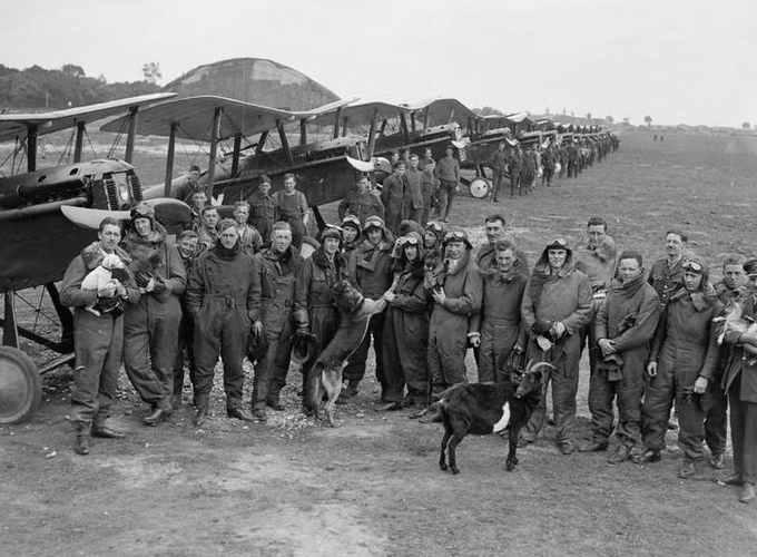 lo squadrone del maggiore Edward Mannock