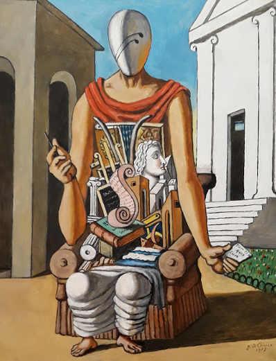 La Mostra di Giorgio De Chirico 6