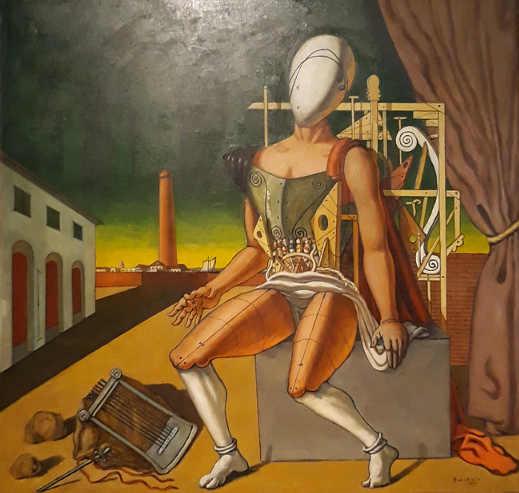 Mostra Giorgio De Chirico: Orfeo trovatore stanco