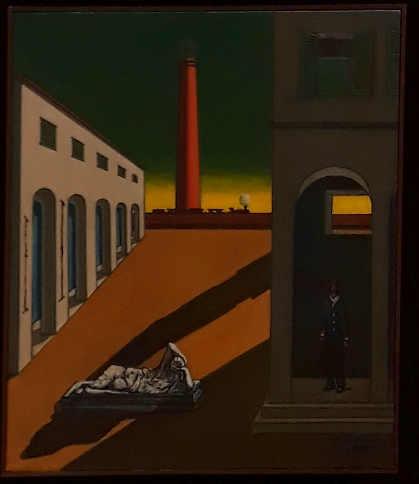 La mostra Giorgio De Chirico.