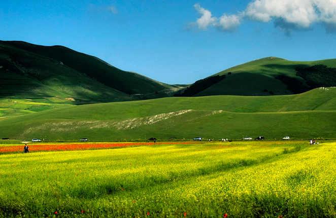 Castelluccio di Norcia, Fiorita in Valnerina foto di Carlo Granchius Bonini 5