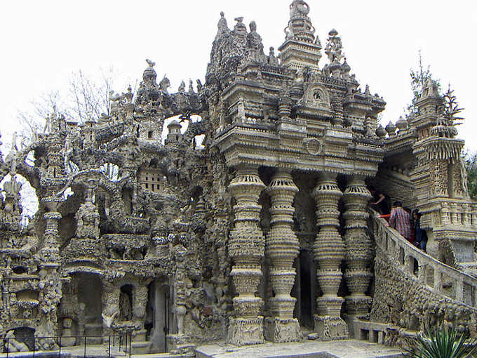 Palais Idéal Cheval o Palazzo Ideale Cheval