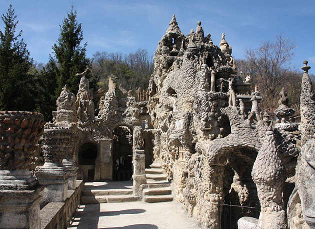 Palais Idéal Cheval o Palazzo Ideale Cheval 9
