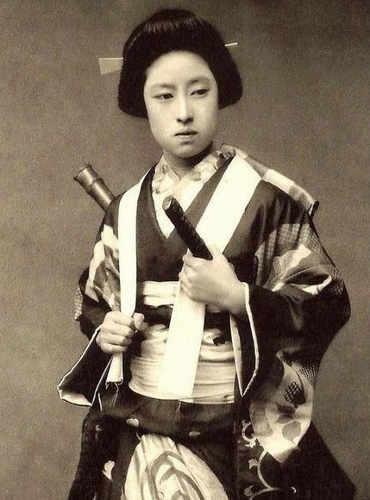 Nakano Takeko una famosa Onna bugeisha