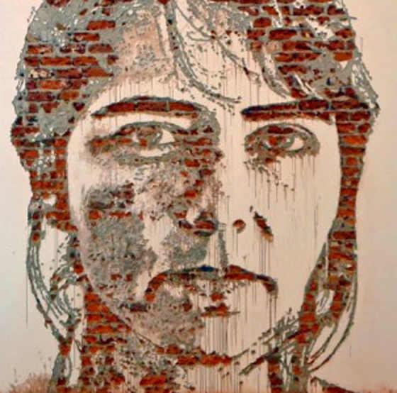 Murales Alexandre Farto aka Vhils #12