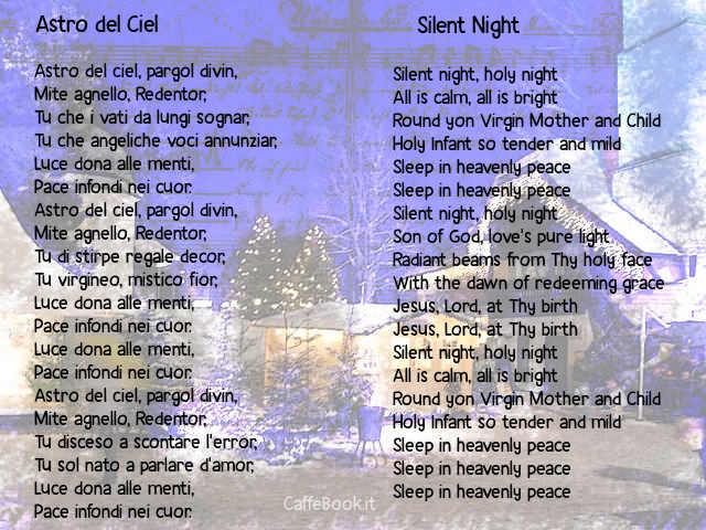 testo di Astro del Ciel (Silent Night)