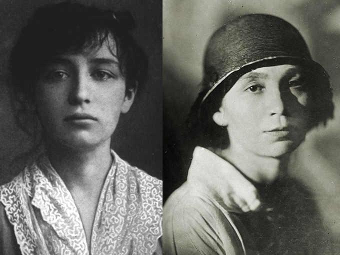 Camille Claudel e Nathalia Goncharova