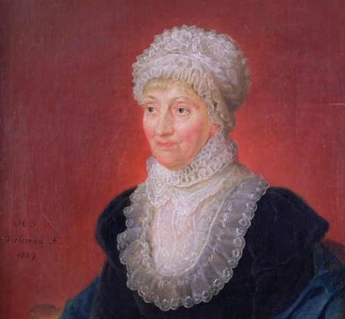 L'astronoma Caroline Herschel