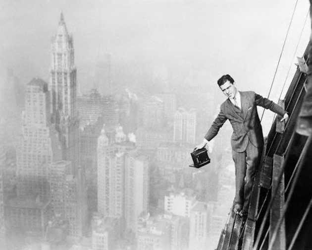 Charles Ebbets foto in cima a un grattacielo