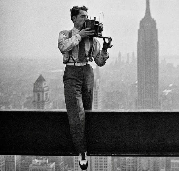 Charles Ebbets foto in cima a un grattacielo 2