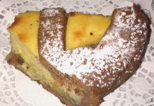 Crostata al cioccolato mele caramellate e crema agli agrumi senza glutine