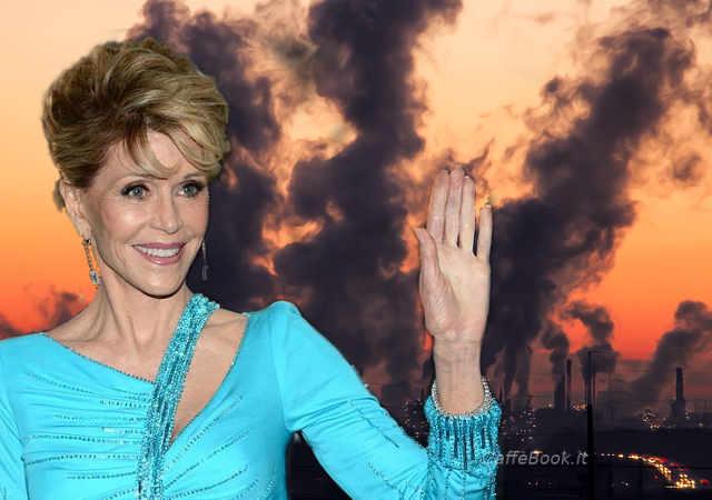 Jane Fonda e i comportamenti virtuosi nel campo ambientale