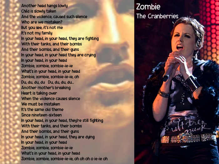 Testo di Zombie The Cranberries