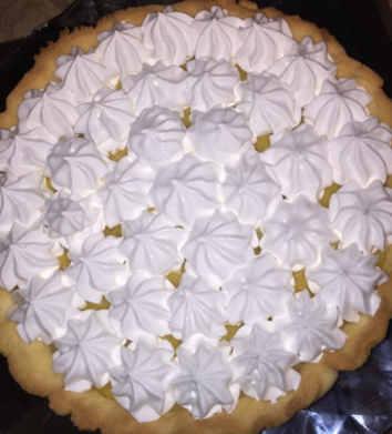 Preparazione Lemon Meringue Pie Senza Glutine: Meringa