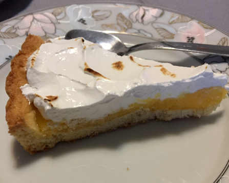 Lemon Meringue Pie Senza Glutine