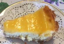 Ricetta Cheesecake Ricotta e Mascarpone Cotta con Crema al Limone Senza Glutine