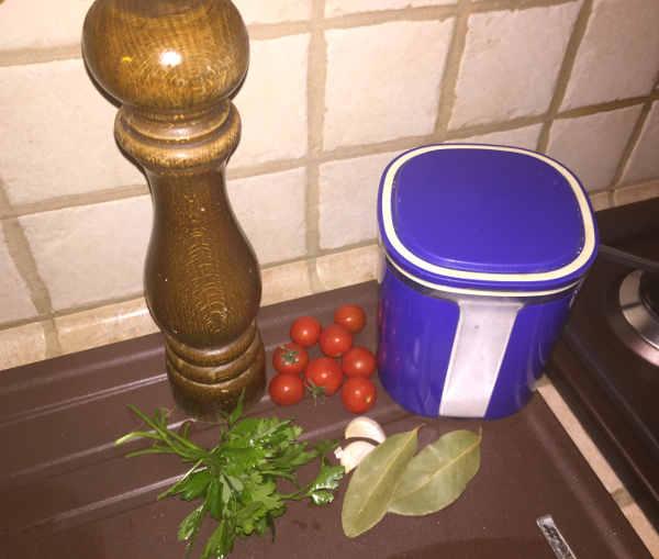 Preparazione per la Vellutata di lenticchie decorticate 2