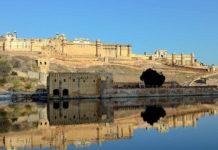 Foto di Amber Fort (o Forte Amber) viaggio nella fortezza di Jaipur