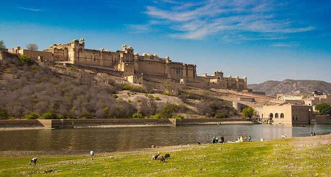 Amber Fort (o Forte Amber) la bellissima fortezza di Jaipur